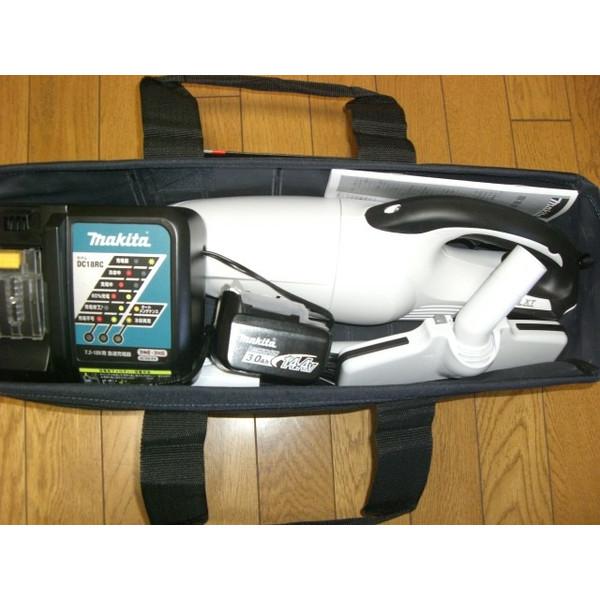 マキタ 充電式クリーナ CL140FDRFW 充電器 電池付 フルセット 便利な収納バッグ付