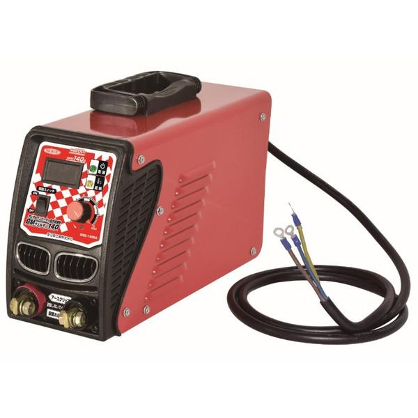 日動工業 単相200V専用 140A デジタル表示タイプ BM2-140DA 正確な調整が簡単 NICHID デジタル溶接機