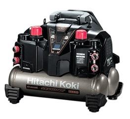 日立 高圧エアコンプレッサ EC1245H3(S) 高圧釘打機専用 セキュリティ機能なし 空気タンク容量8L 最高気圧45気圧 HiKOKI ハイコーキ 2年保証付き 大型商品