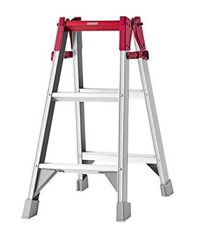 ハセガワ RAはしご兼用脚立 Hasegawa New Design RA-09 はしご兼用タイプ 天板高さ0.8m 60mmの幅広踏ざん 最大使用質量130kg 長谷川工業