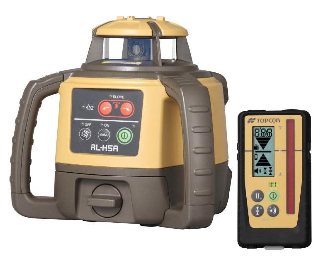 新品登場 TOPCON 三脚付 RL-H5A 回転レーザー + レーザーレベル トプコン 店 日本正規品 LS-100D 大型商品:カナジン RL-H4C後継商品 ローテーティングレーザー 乾電池パッケージ-DIY・工具