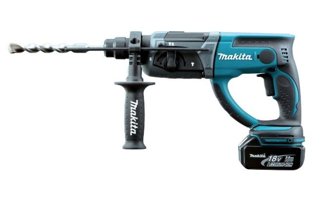 マキタ 充電式ハンマドリル HR202DRFX リチウムイオンバッテリ3.0Ah バッテリBL1830×2本+充電器DC18RA+プラスチックケース付 SDSプラスシャンク 18V対応 makita
