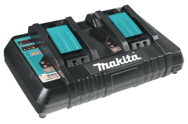 マキタ 2口急速充電器 DC18RD JPADC18RD 充電完了メロディ付 スマートフォン等が 充電可能(USB) 9.6V・14.4V・18V対応 makita