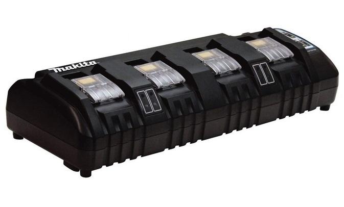 マキタ 4口充電器 DC18SF JPADC18SF 壁に固定して充電可能 14.4V・18V対応 makita