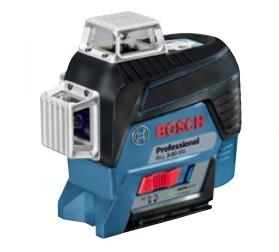 ボッシュ レーザー墨出し器 GLL3-80CG グリーンレーザー 水平4ライン・垂直4ライン・鉛直・地墨 BOSCH ◎