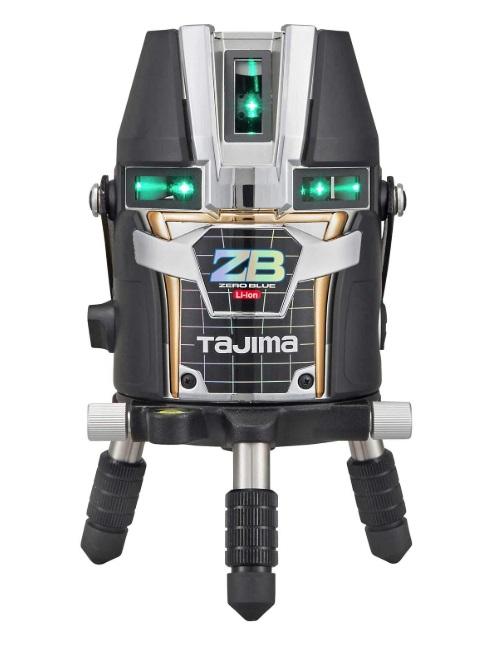 在庫有 タジマ レーザー墨出器 ZEROBL-KJC 本体のみ ZERO BLUE リチウム-KJC 本体製品重量約1280g KJC 矩十字・横全周 TJMデザイン 当店番号007