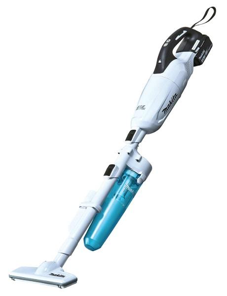 マキタ 充電式クリーナ CL281FDFCW バッテリBL1830B・充電器DC18RF・ロック付サイクロンアタッチメント付 カプセル式&ワンタッチスイッチ 18V対応 makita