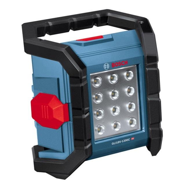 在庫有 ボッシュ コードレス投光器 GLI18V-1200C 本体のみ バッテリーライト コネクト機能 防水・防塵 IP64 屋外使用可能 LEDライト 1200ルーメン 18V対応 BOSCH
