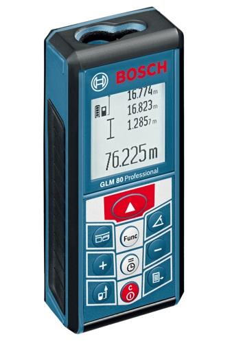 ボッシュ レーザー距離計 GLM80N 360°角度センサー搭載 充電式リチウムイオンバッテリー内蔵で乾電池の交換不要 BOSCH ◎