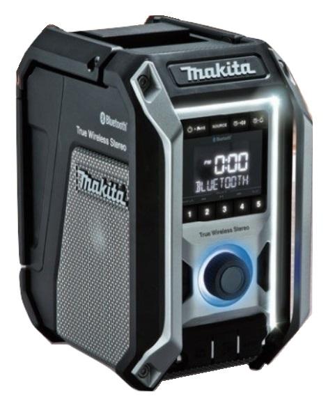 マキタ 充電式ラジオ MR113B 黒 本体のみ Bluetooth対応 イコライザー機能 マイク使用可能 最大10台接続可能 USB機器充電可 AC100V 10.8V 14.4V 18V対応 makita