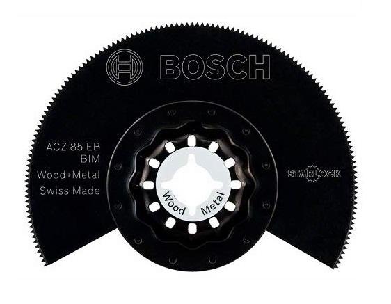 ボッシュ スターロック ACZ85EBN/10 木材&金属用 カットソーブレード ACZ85EBN 10個入 材質: バイメタル マルチツール STARLOCK BOSCH