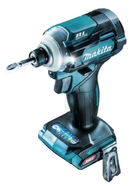 マキタ 充電式インパクトドライバ TD001GZ 青 本体のみ 全長120mm 最大締付トルク220N・m 40V対応 makita