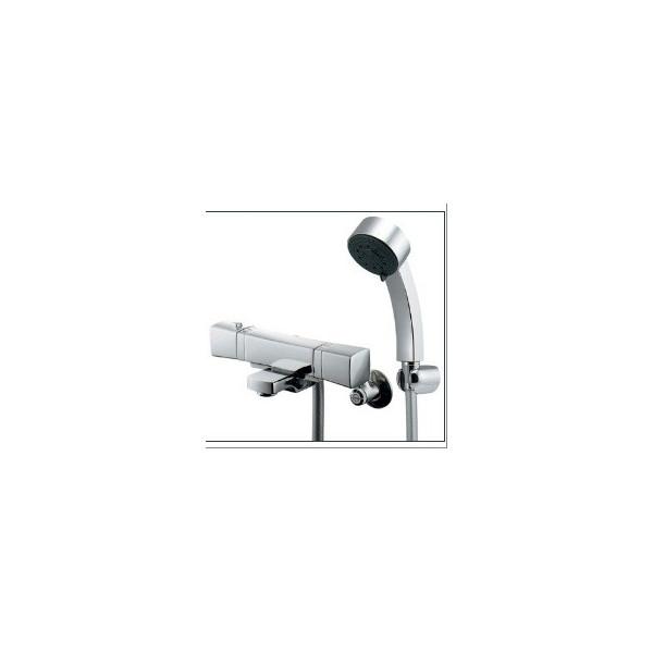 【予約販売】本 サーモスタットシャワー混合栓 173-237K RASATO 混合水栓:カナジン 店 カクダイ-木材・建築資材・設備