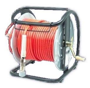 滑らかですべりが良く、引っ掛かりを防ぎます。 マッハ 高圧用C型ドラム エアリール NHD-630C オレンジ 内径6.0mmX外径10.0mmX30m Mach フジマック