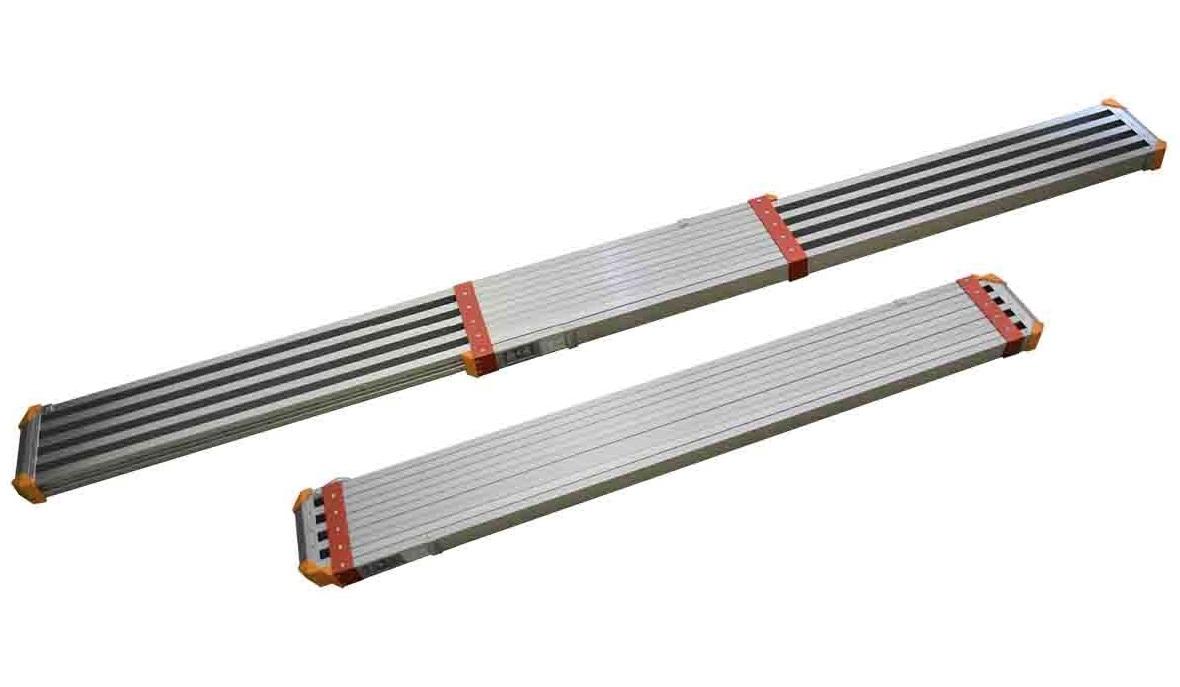法人限定特価 ピカ 両面使用型伸縮足場板 STGD-A3623 コンパクトステージ 4mmピッチで任意の長さに伸縮 STGD-3623の後継商品 大型製品
