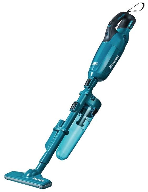 マキタ 充電式クリーナ CL280FDZC 青 本体+ロック付サイクロンアタッチメント付 カプセル式&スライド+トリガスイッチ 18V対応 makita