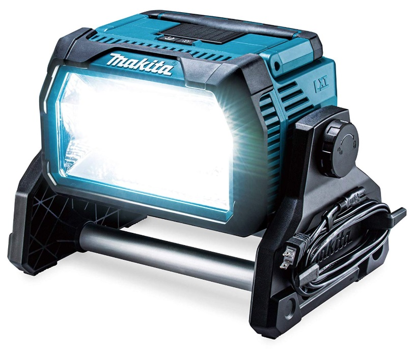 マキタ 充電式スタンドライト ML809 本体のみ コードレス 明るさ調整3段階 ライト角度調節240度 光束10000lm 防じん・防水IP65 14.4V対応 18V対応 makita