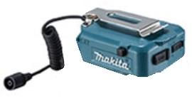マキタ 14.4V 18V用バッテリホルダ YL00000002 本体のみ 取り外し可能ベルトフック付 低価格 大注目 USB端子 makita A型 18V で携帯機器の充電可 14.4V対応 PE00000022後継品