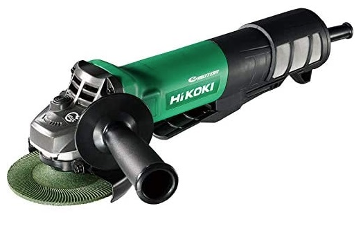 HiKOKI 100mm 電気ディスクグラインダ ブレーキ付 G10BYEQ 100V仕様 サイドハンドル付 質量1.8kg コード2心・2.5m 工機ホールディングス ハイコーキ 日立
