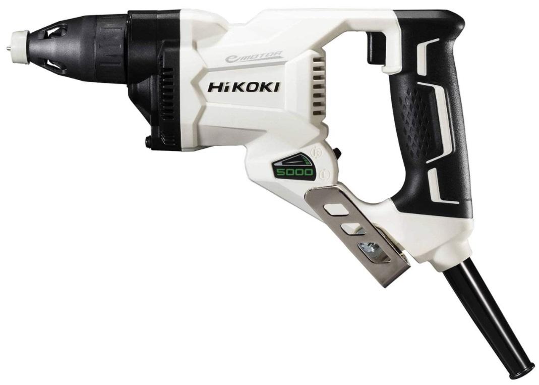 HiKOKI ボード用ドライバ W5SE2(W) スピーディーホワイト ドライウォールねじ5mm 無負荷回転数5000min-1 質量0.9kg コード2心・20m ハイコーキ 日立