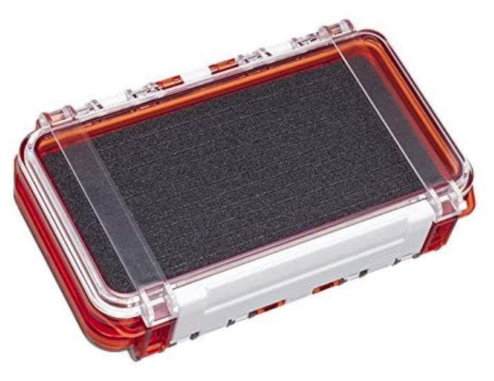 メイホー タックルボックス 明邦化学 毎週更新 防水ケース WG-2 ついに再販開始 HG サイズ175x105x43mm クリアオレンジ MEIHO
