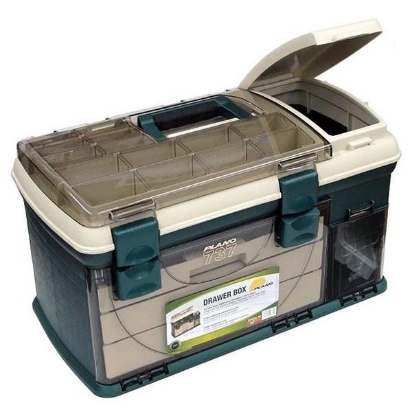 便利もん+ 737002 3段引出付工具箱グリーン広 V107372 工具箱 BOX True Value トゥルーバリュー PLANO MOLDING CO プラノ