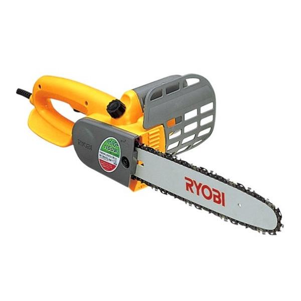 RYOBI【リョービ】電気チェンソー オイル自動給油 電気ブレーキ付 切断長さ300mm CS-3010S