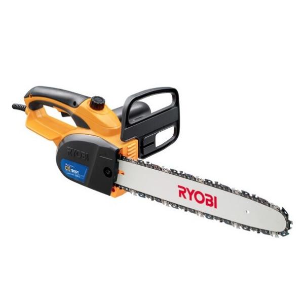 RYOBI【リョービ】電気チェンソー ハーフトップハンドル オイル自動給油 切断長さ360mm CS-3601