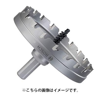 ボッシュ 超硬ホールソー(回転専用) TCHS95SR 刃先径95mmφ 5mmまでの鋼板・ステンレス板・プラスチック・塩ビ・FRP等の穴あけ BOSCH