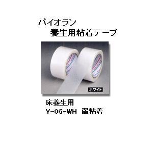ダイヤテックス パイオラン クロス 床養生テープ Y-06-WH 50mm×25m ホワイト ケース(30巻) 白 養生テープ クロステープ パイオランテープ