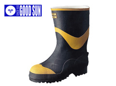 長靴 安全長靴 レインブーツ レインシューズ レディース 女性サイズ対応 防水 雨靴 梅雨対策 弘進ゴム フエルト安全半長F型