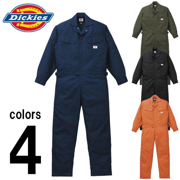 つなぎ ツナギ服 おしゃれ Dickies(ディッキーズ) 秋冬作業服 年間物つなぎ服 1101 刺繍 ネーム刺繍