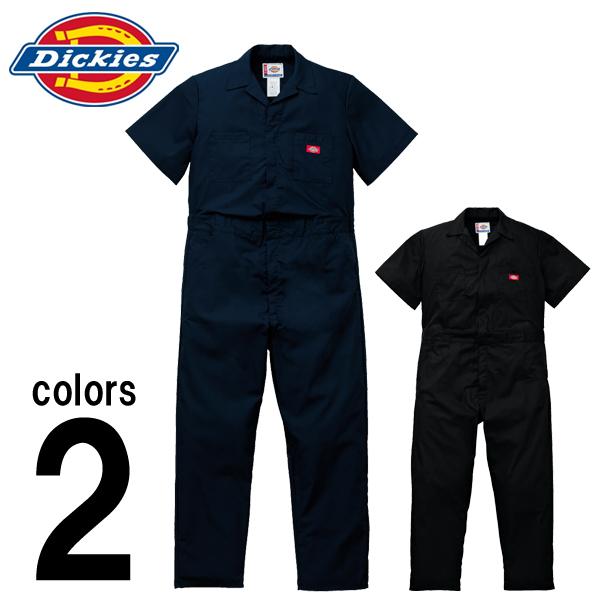 つなぎ ツナギ服 おしゃれ XL Dickies(ディッキーズ) 春夏作業服 半袖インポートつなぎ服 33999