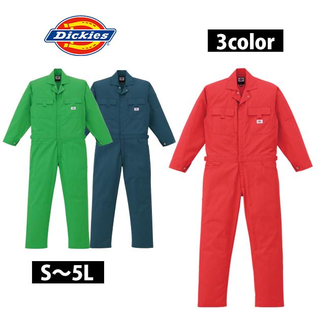 3L~5L|Dickies|ディッキーズ|作業服|年間物ストライプツヅキ服 21-1601