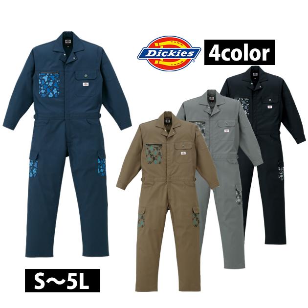 S~LL|Dickies|ディッキーズ|作業服|年間物ストライプツヅキ服 21-1602