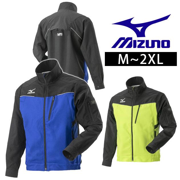 作業服 作業着 動きやすさと機能性を追求 ワークウェア ミズノ 春夏作業服 MOVEジャケット F2JE9184