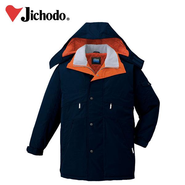 【4L】【自重堂】【秋冬作業服】コート(フード付) 48233