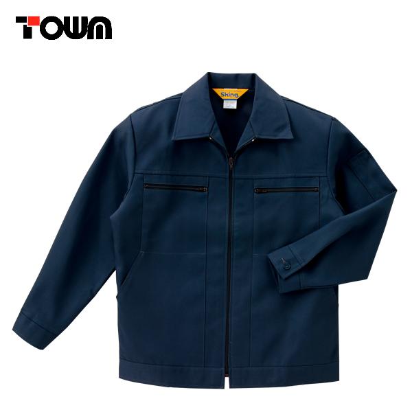 作業服 作業着 ワークウェア TSDESIGN 藤和 秋冬作業服 4つポケットファスナージャンパー 26-2301