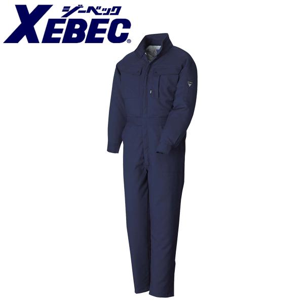 作業服 作業着 ワークウェア XEBEC ジーベック 防寒作業服 防寒続服109 刺繍 ネーム刺繍
