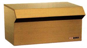 ハッピーポスト ファミール NO.600-AM ステンレス製 アンバー仕上 カギなしタイプ