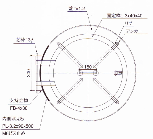 Kanamono Online Round Roof Canopy Check Out Mouth And Manhole