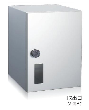 コーワソニアsonia戸建住宅用宅配ポスト1433L(左開き)パインW290×H390×D365mm