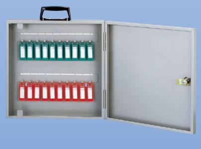 キーボックス 20本用 携帯・固定(壁付け)兼用型 新協和 SK-20KX シルバーメタリック色