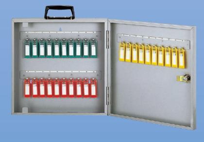 キーボックス 30本用 携帯・固定(壁付け)兼用型 新協和 SK-30KX シルバーメタリック色