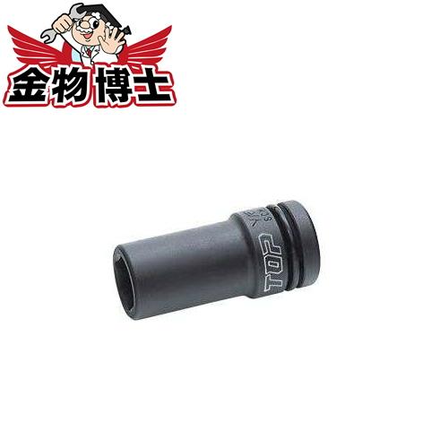 インパクト用ディープソケット TOP工業 PT-424L 大特価!! 対辺寸法 24mm 最安値挑戦 12.7mm 差込角
