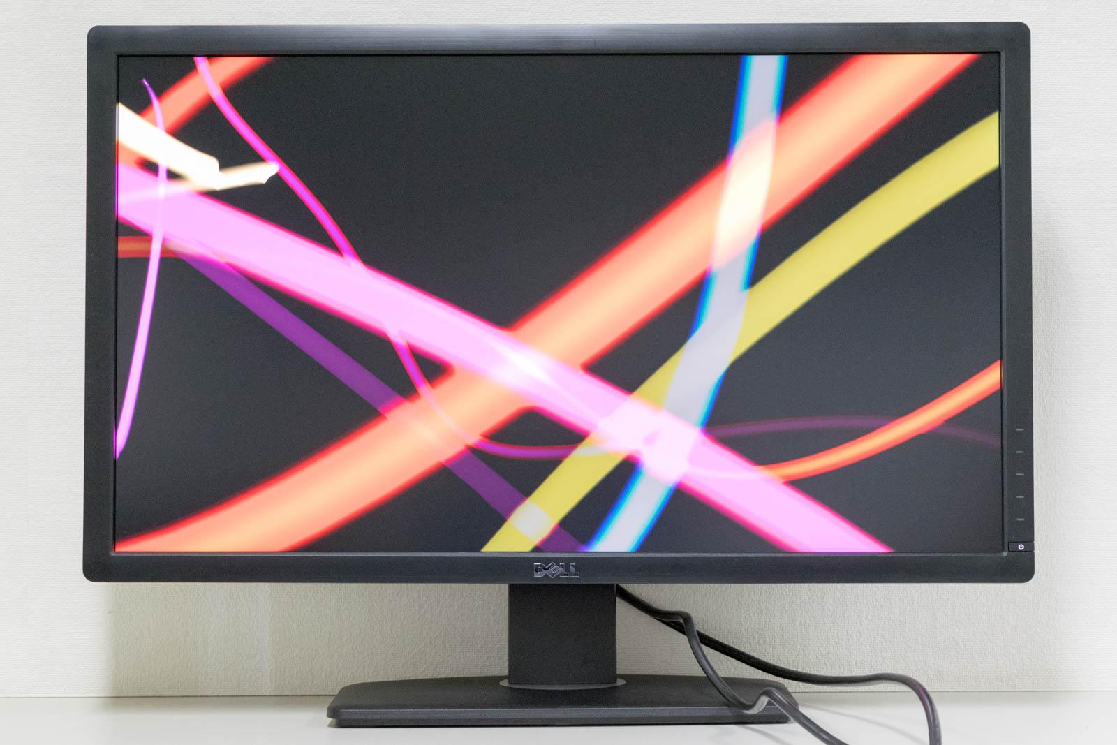 DELL U2713H 27インチ(2560x1440) WQHD LEDバックライトカラー液晶モニター 【中古】