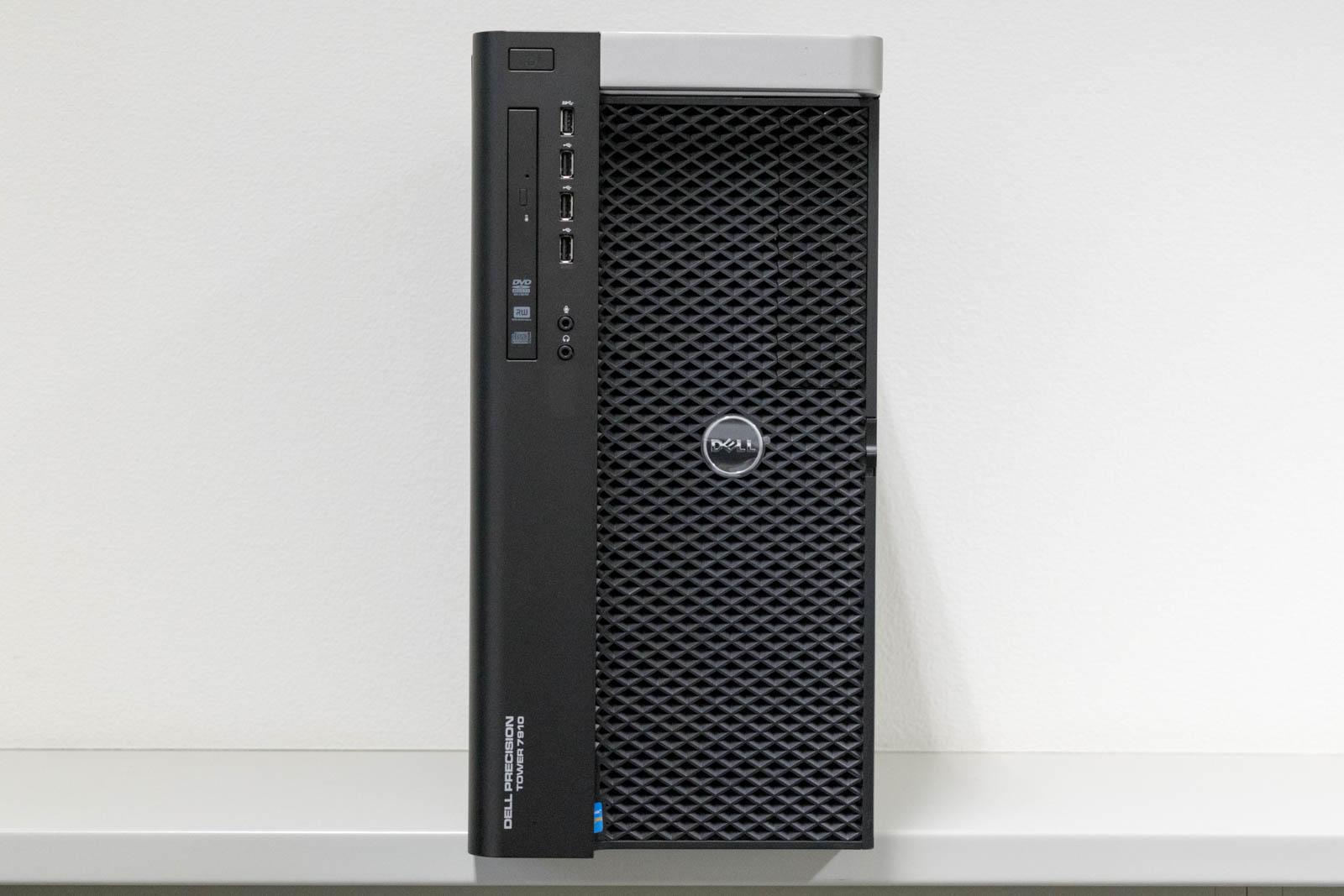 DELL Precision Tower 7910 Xeon E5-2697 v3 x2, メモリ64GB(8GBx8), NVIDIA Quadro K620 2GB, Windows 8.1 Pro 64bit, 256 SSD + 1TB HDDx1【中古】