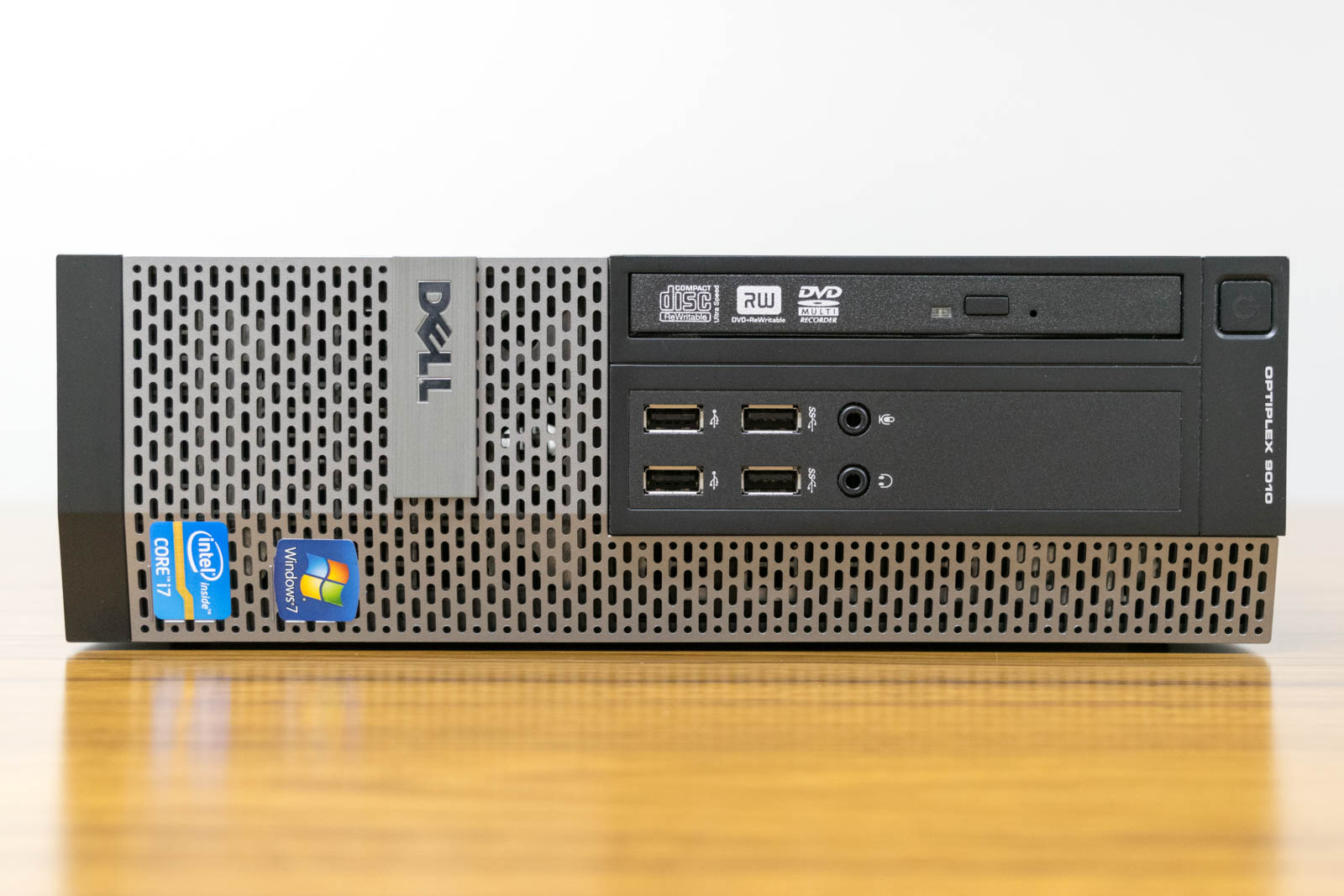 DELL OptiPlex 9010 スモールフォーム, Windows 7 Professional 64bit, Core i7-3770, メモリ8GB(2GBx4), 500GB HDD 【中古】