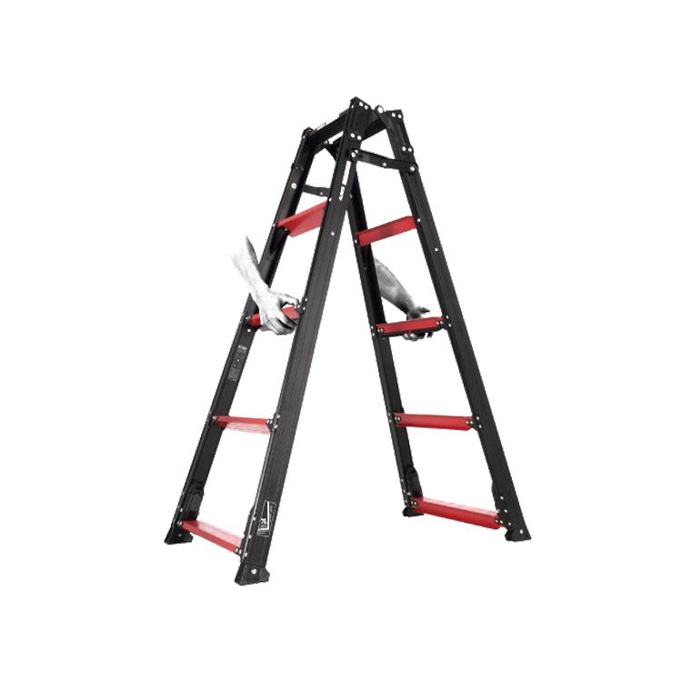 アルインコ ガウディ GUD-210 立ったまま調整 伸縮脚付き はしご兼用脚立 代引き不可