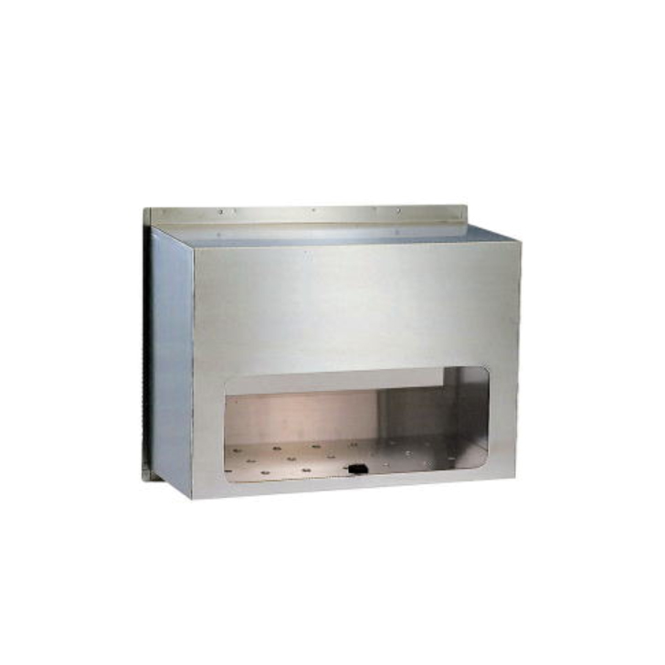 送料無料 HSK ハッピー金属 ファミール 670 ステンレス 内掛用 ポスト受箱 代引き不可